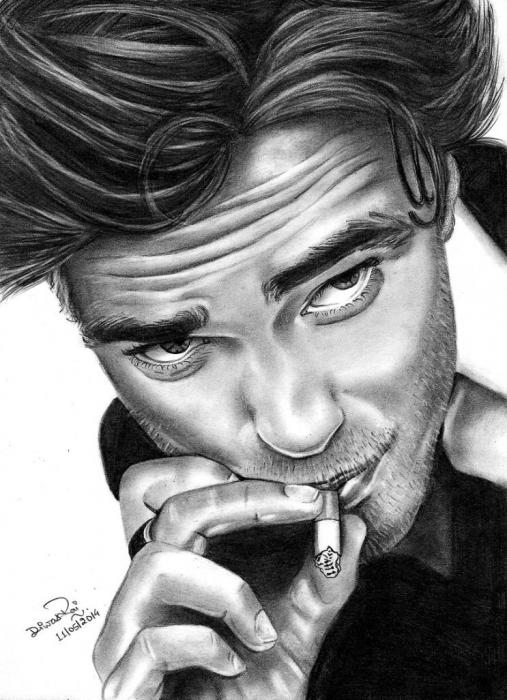 Robert Pattinson by Diwas